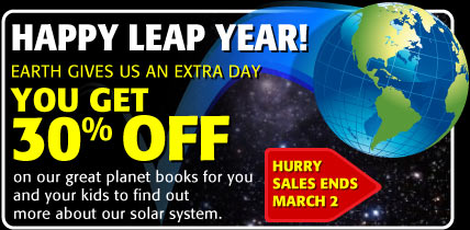 HAPPY LEAP YEAR - you get 30% off - hurry, sale end March 2