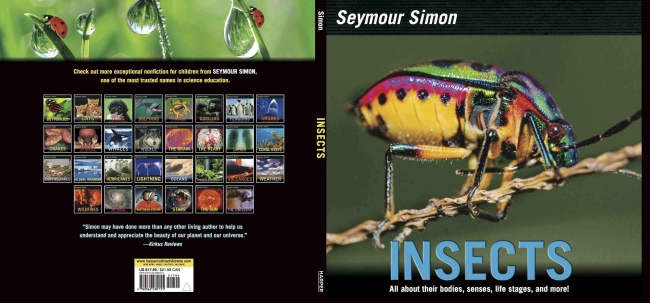 Cover of Seymour Simon's book INSECTS