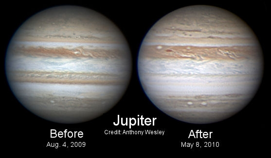 Jupiter Before and After