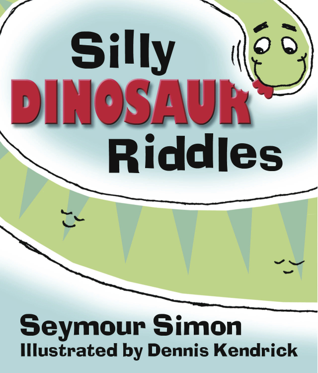 'Silly Dinosaur Riddles' cover